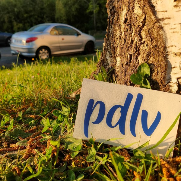 Sticker PDLV bleu