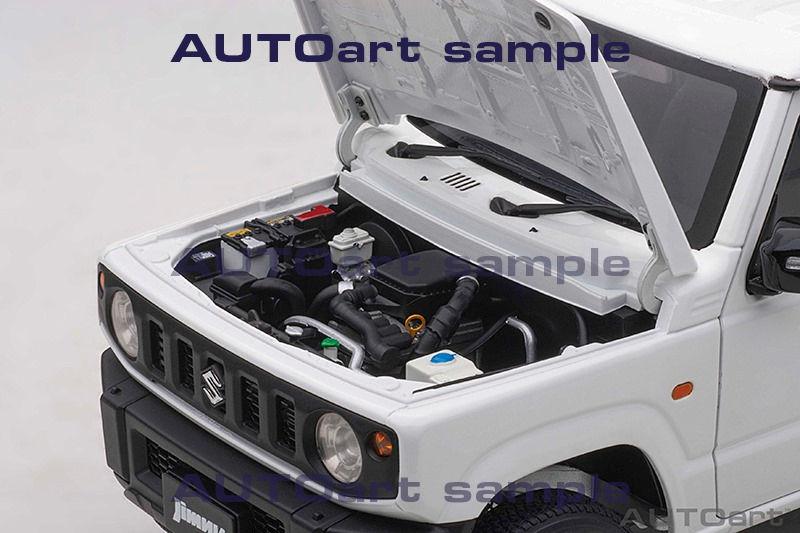 1/18 Suzuki Jimny AUTOart moteur capot
