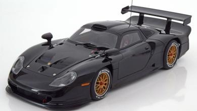 Photo de 1/18 : La Porsche 911 (996) GT1 AUTOart a prix «adouci»