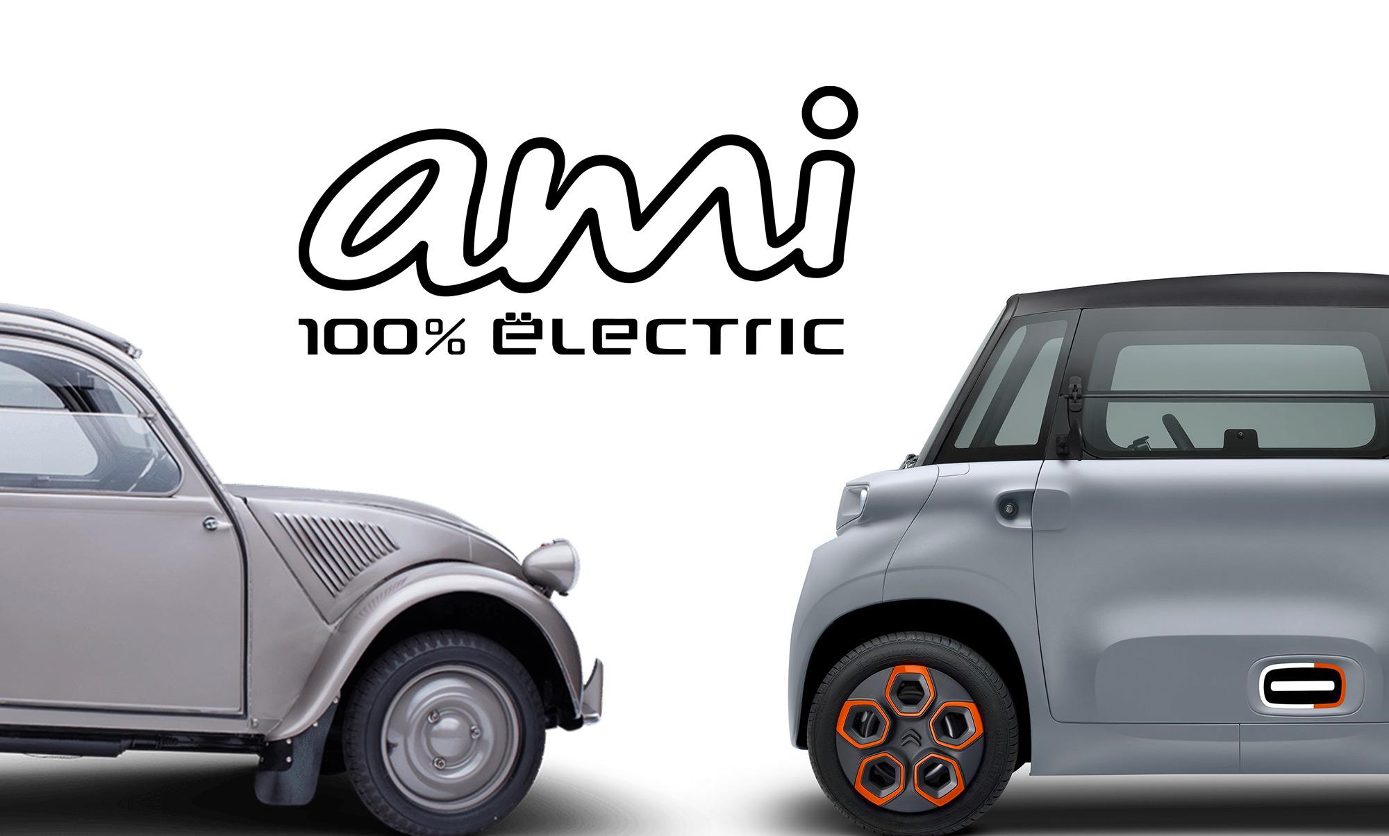 Citroën Ami nouvelle 2CV