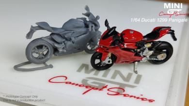 Photo of 1/64 : Mini GT songe à la Ducati 1299 Panigale