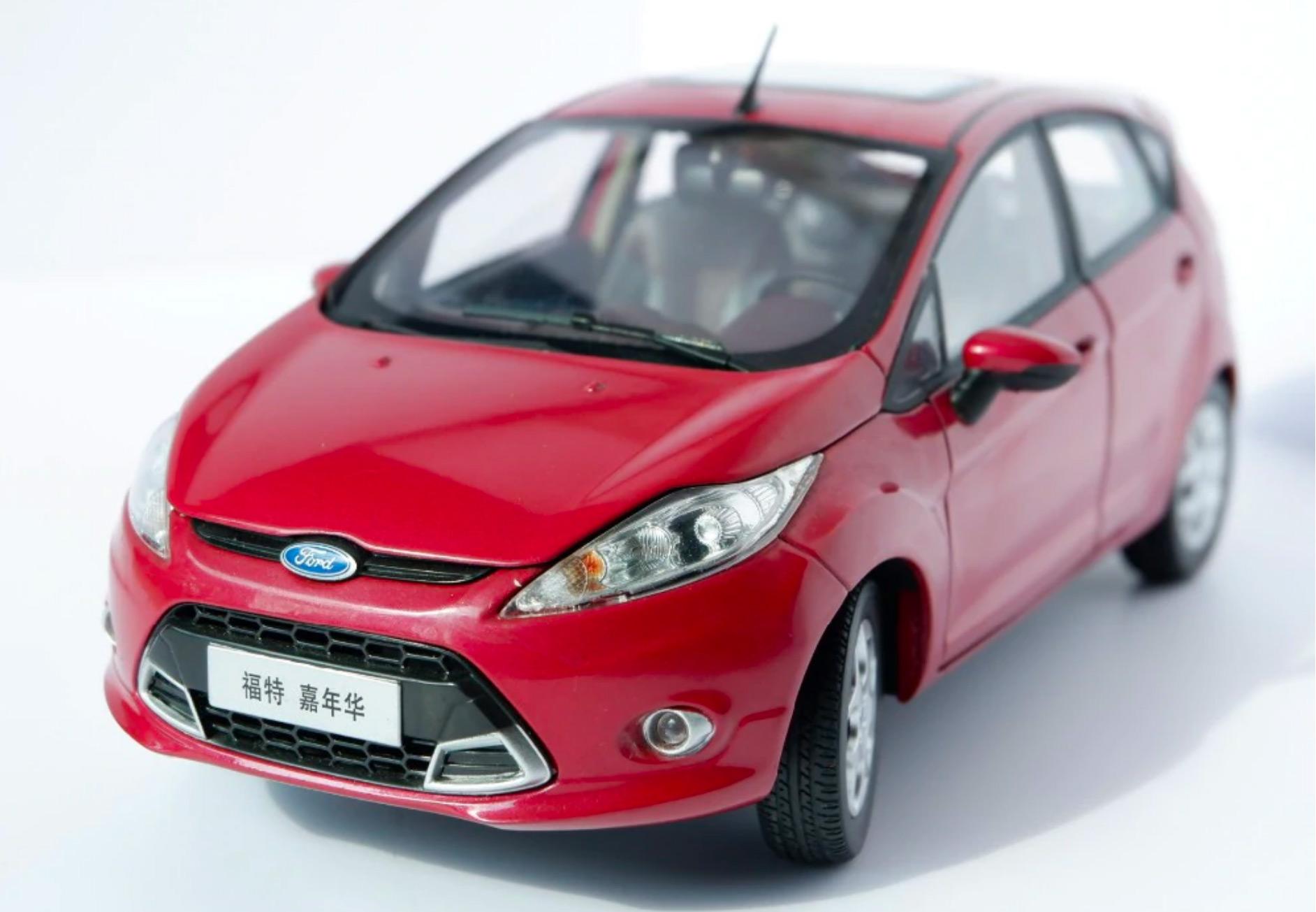 1/18 Ford Fiesta Paudi promotion