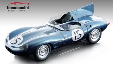 Photo of 1/18 : La Jaguar Type D arrive chez Tecnomodel