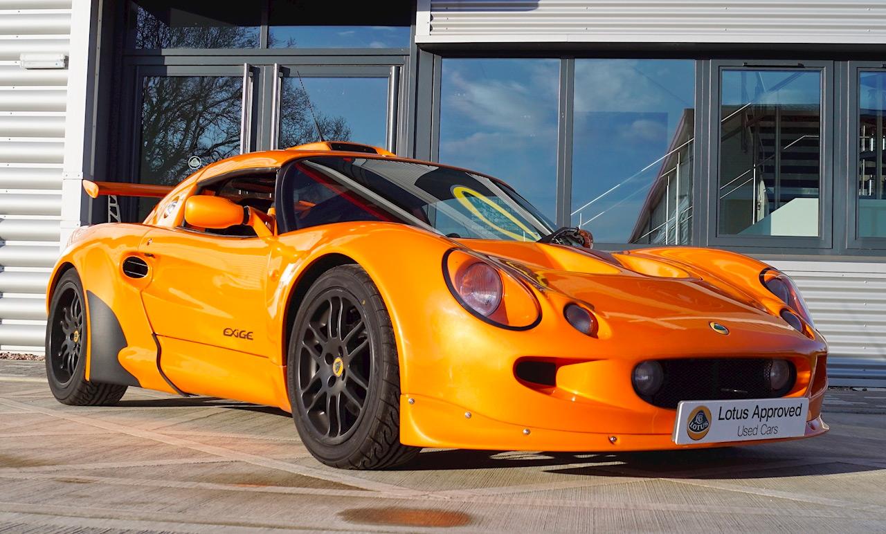 Lotus Exige S1 châssis 0001