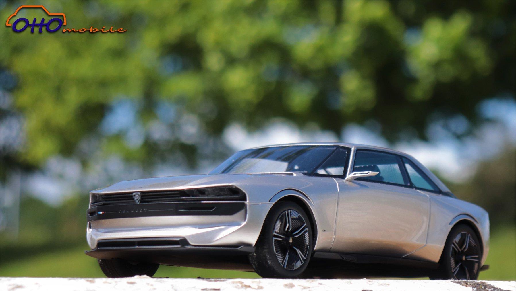 OT323 Peugeot e-Legend concept 1/18