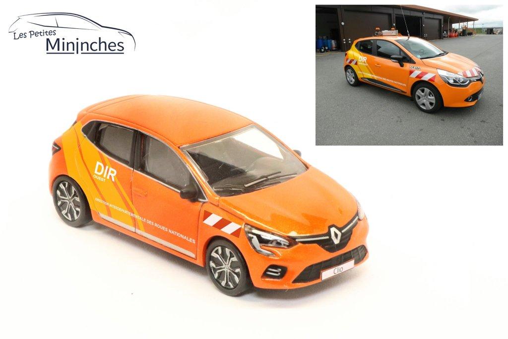 Les Petites Mininches Renault Clio DIR