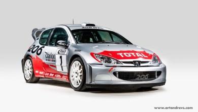 Photo of Une Peugeot 206 WRC est à vendre !