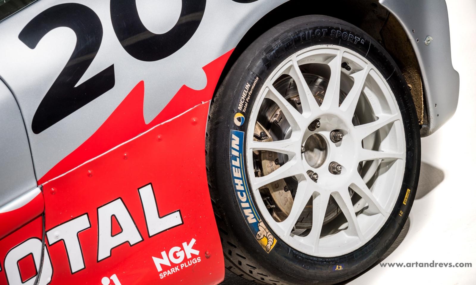 Peugeot 206 WRC jante