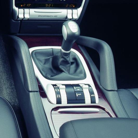 Porsche Cayenne boîte manuelle