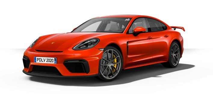 Porsche Panamera GT4 fiche technique