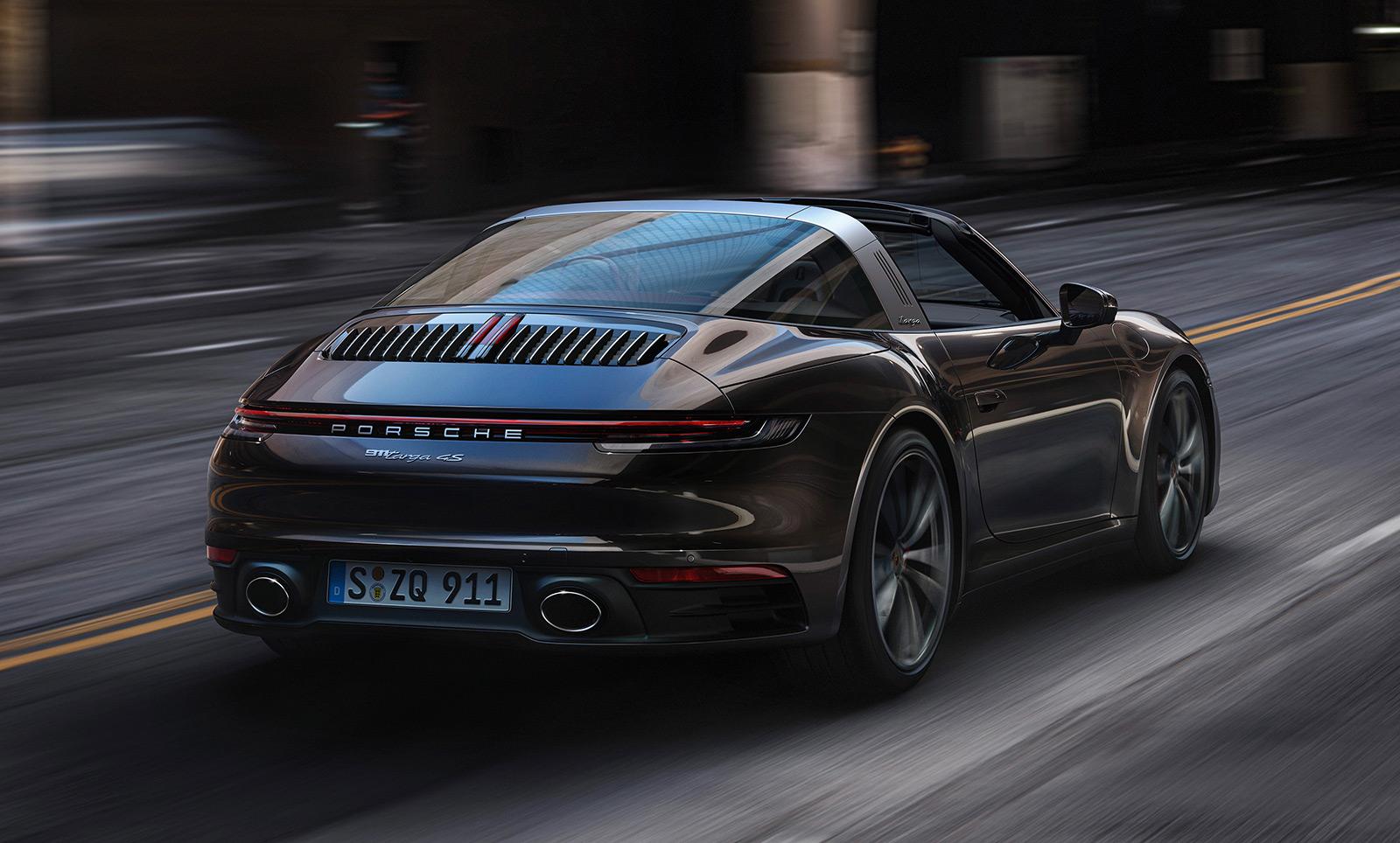 2020 Porsche 911 (992) Targa 4S