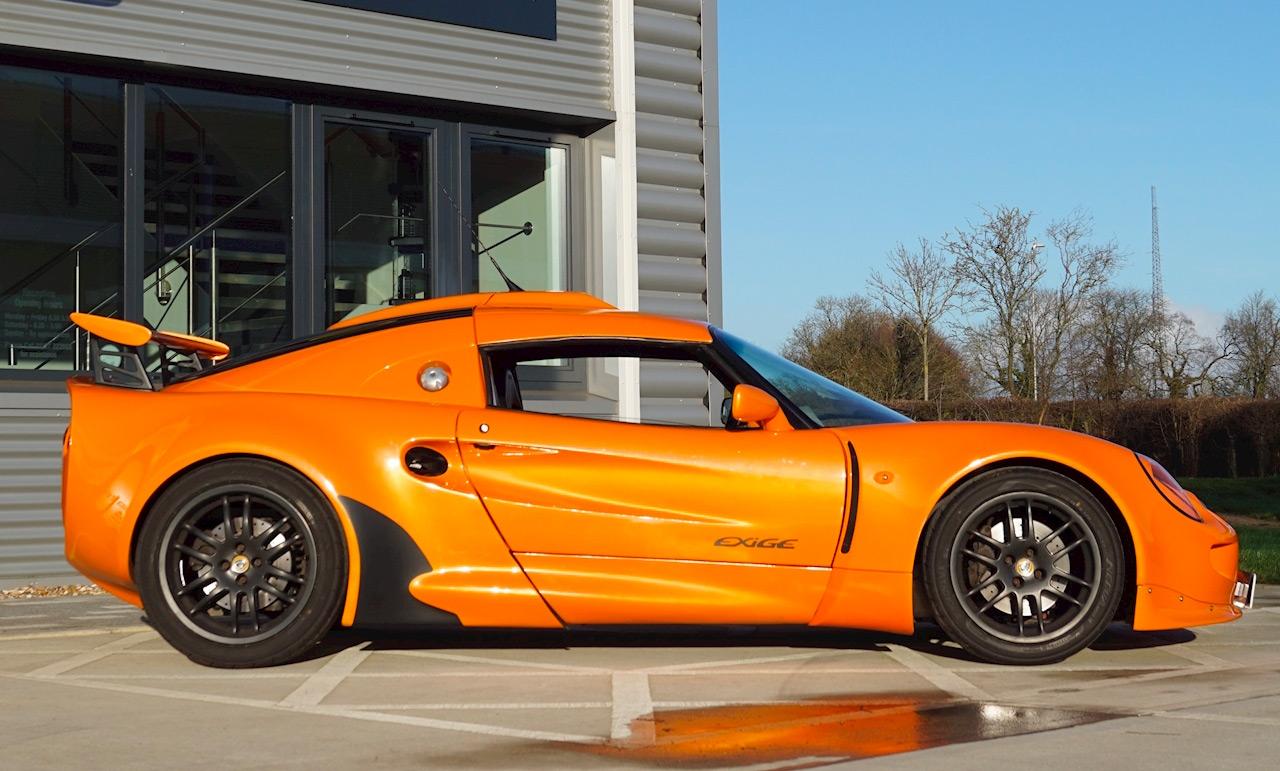 Profil de la Lotus Exige S1