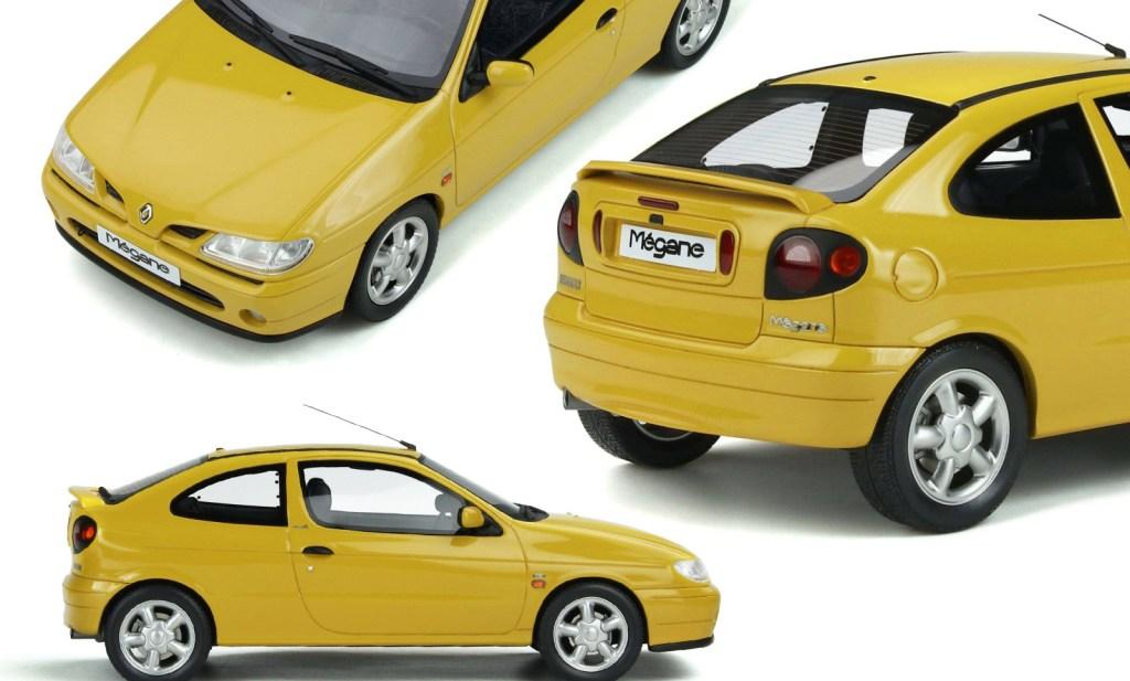1/18 Renault Megane 1 coupé OttOmobile