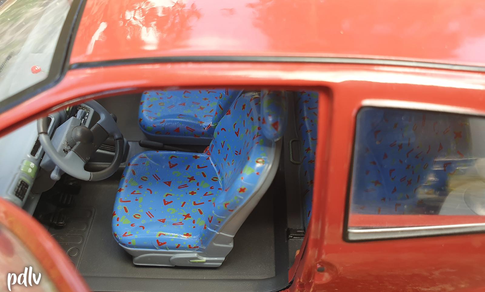 Sièges de la Renault Twingo 1 Solido