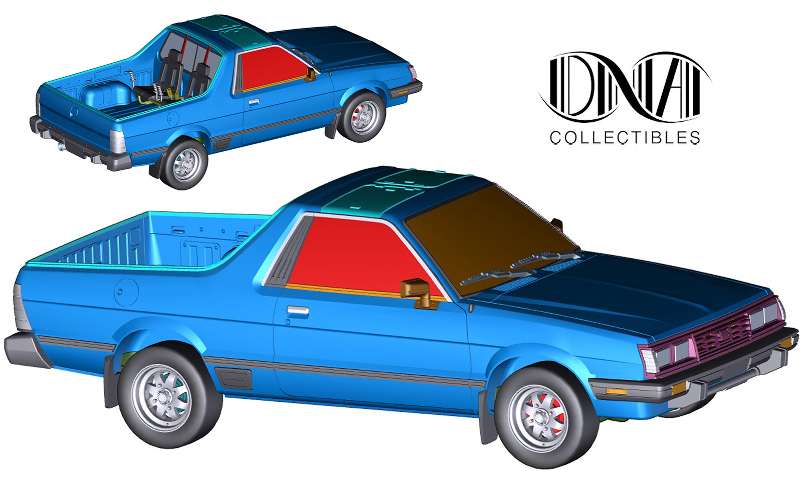 1/18 Subaru Brat DNA Collectibles