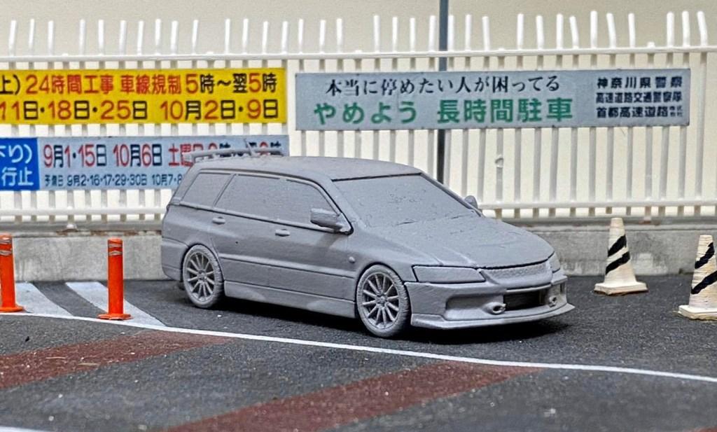1/64 Mitsubishi Lancer Evo 9 Wagon