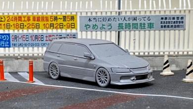 Photo of 1/64 : Tarmac va sortir la Mitsubishi Lancer Evo 9 Wagon
