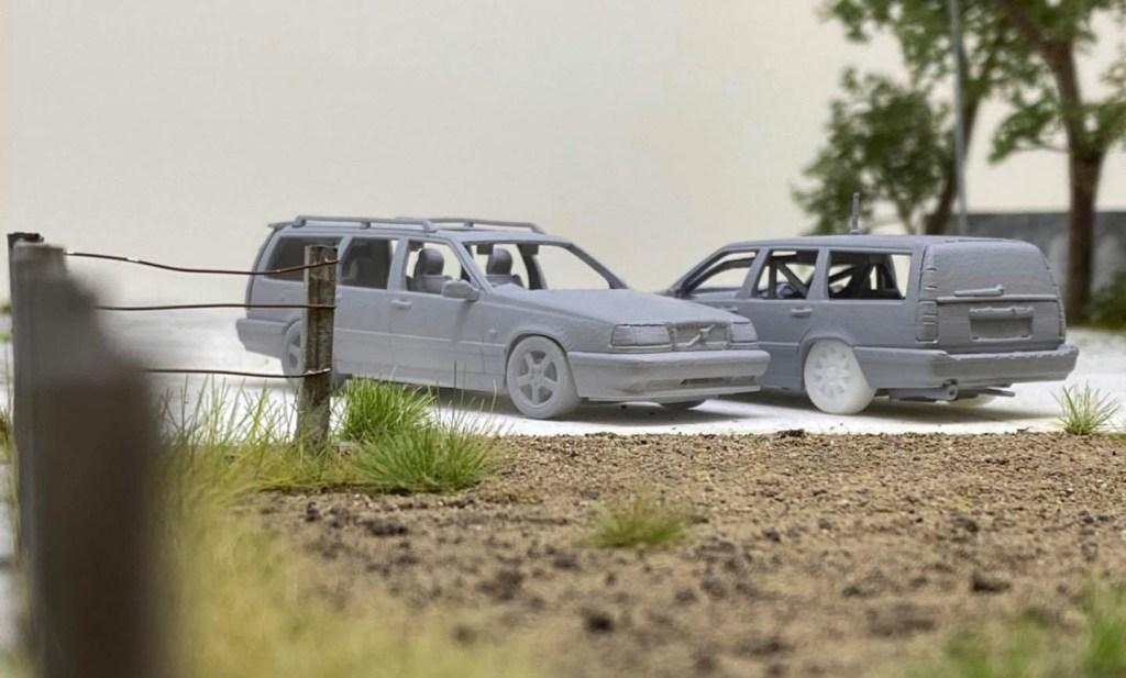 1/64 Tarmac Volvo 850 T-5R
