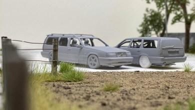 Photo de 1/64 : Tarmac prépare la Volvo 850 T-5R