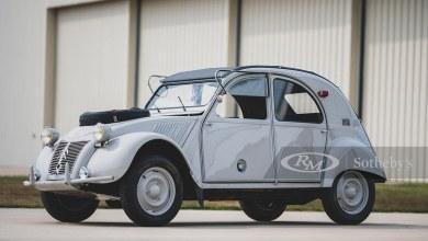 Photo de Une Citroën 2CV Sahara sera bientôt aux enchères