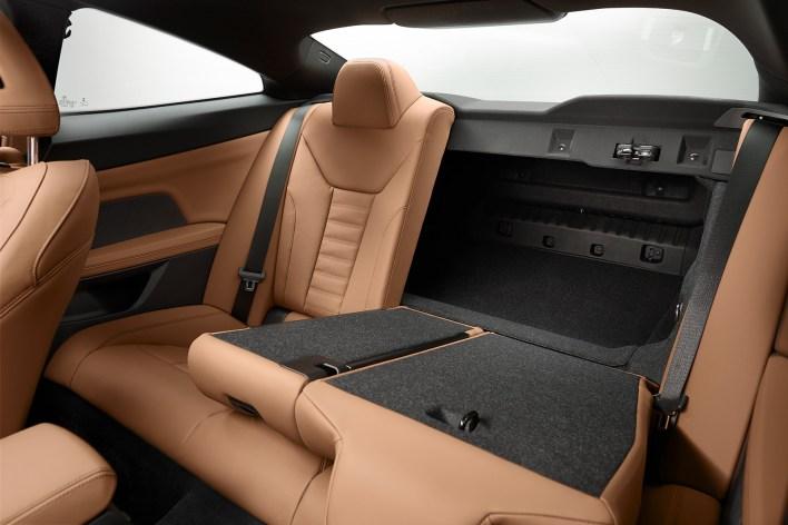 2020 BMW Série 4 (F30) places arrière