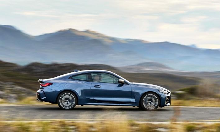 2020 BMW Série 4 (F30) profil