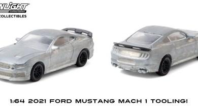 Photo of 1/64 : À peine dévoilée, la Ford Mustang Mach 1 miniaturisée