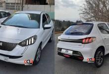 Photo of Une Peugeot 206 look 208 pour l'Iran ?