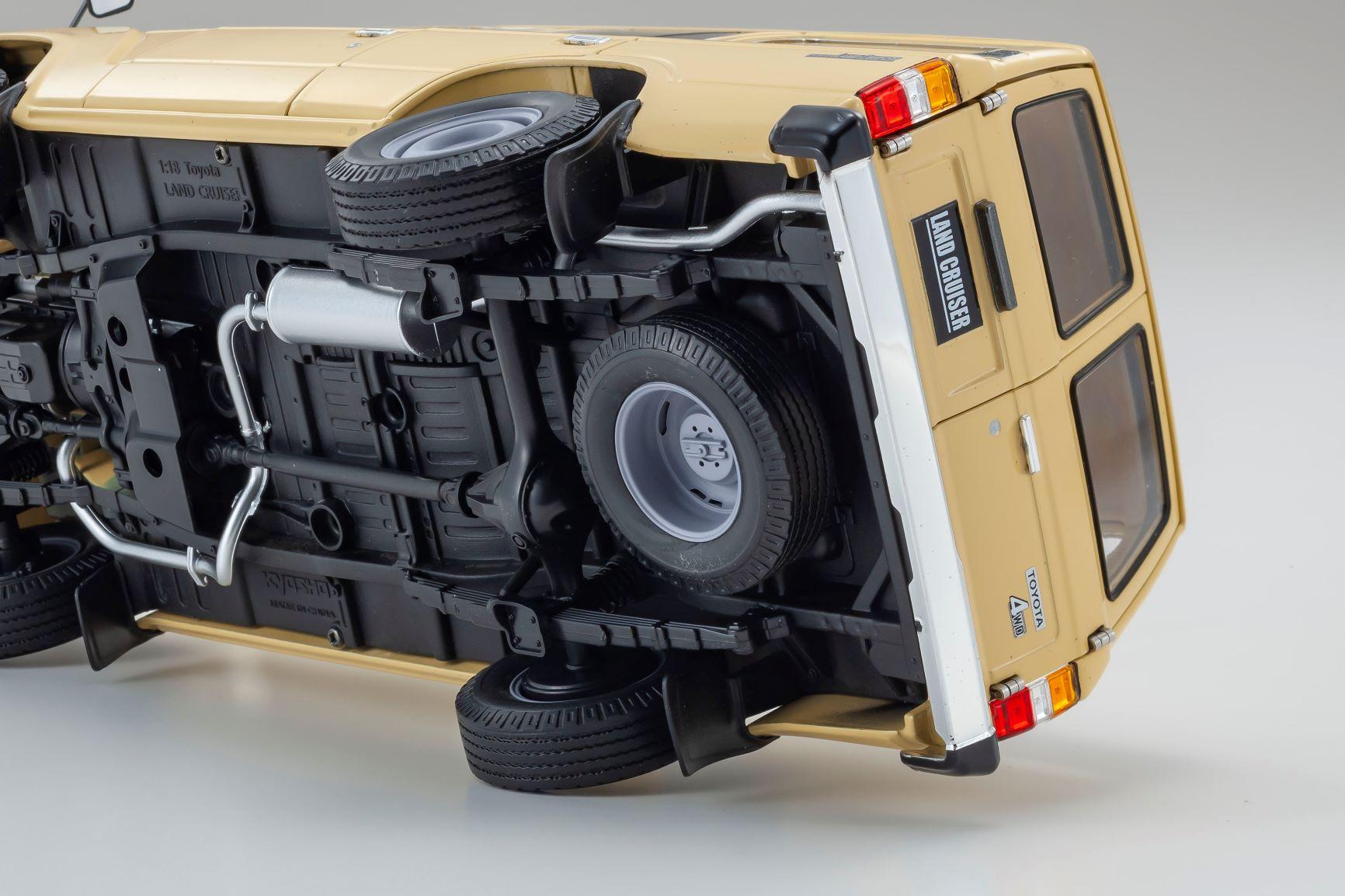 1/18 Toyota Land Cruiser BJ60 Kyosho (08956BE)