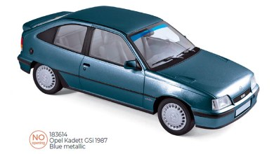 Photo of 1/18 : Norev prépare l'Opel Kadett GSi