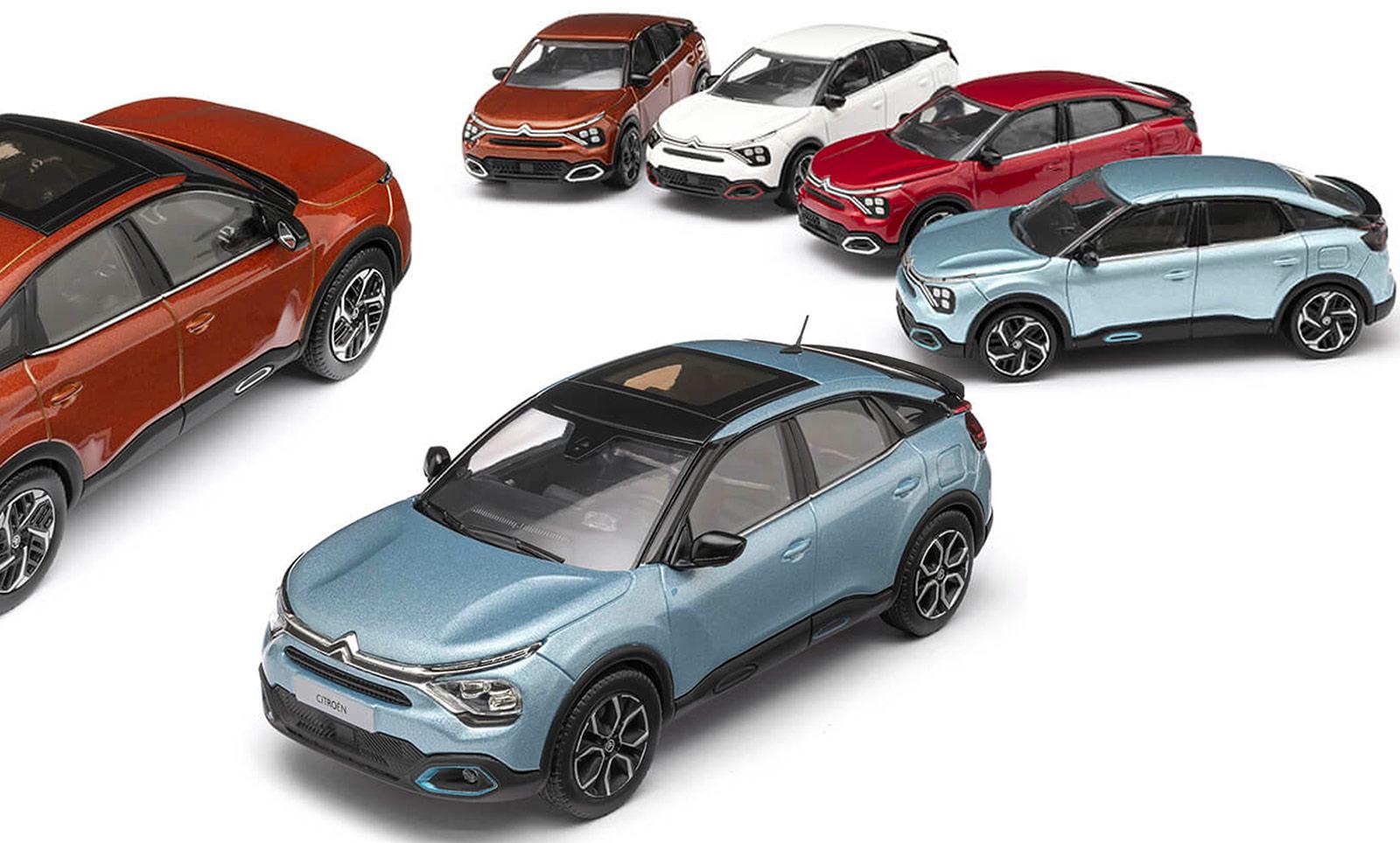 Norev propose la Citroën C4 2020 aux échelles 1/64 et 1/43