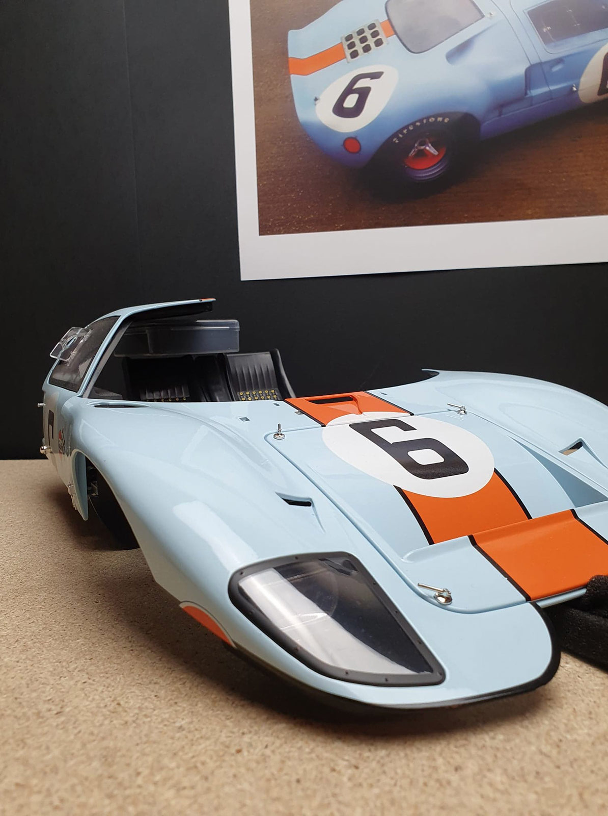 Capot Ford GT 40 Altaya