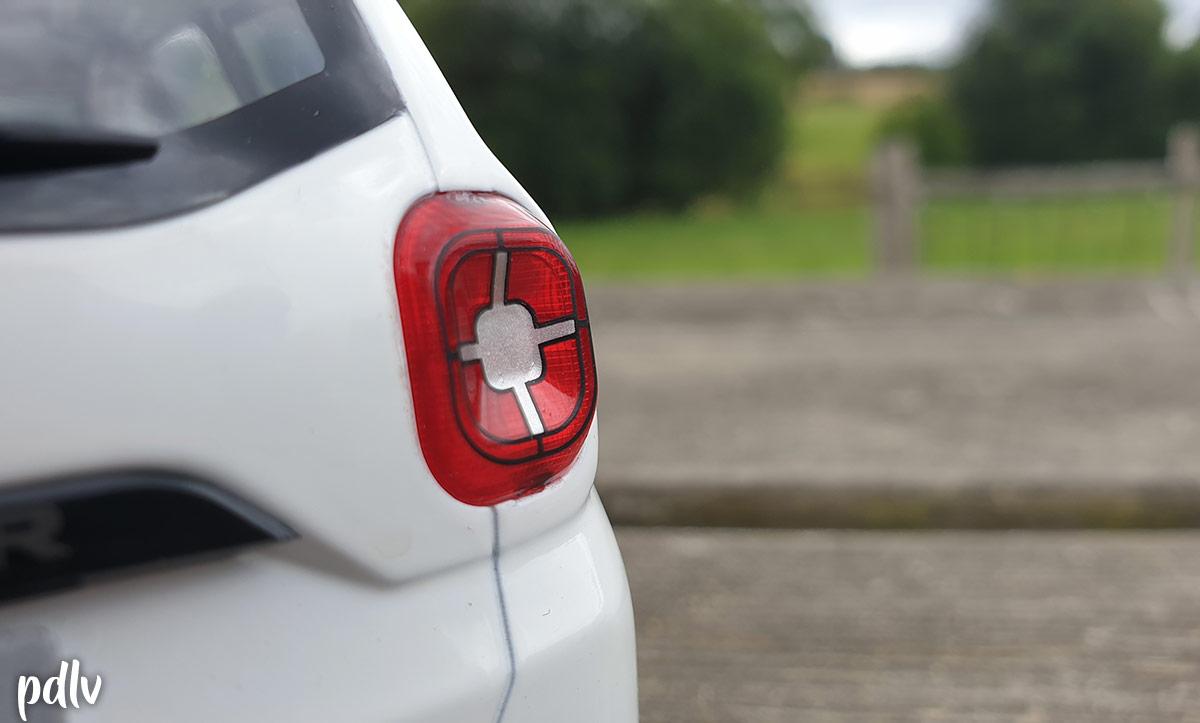 Feux arrière du Dacia Duster Solido