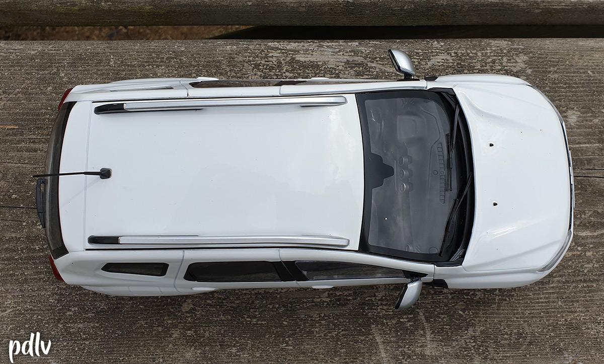 Dacia Duster Solido vue du dessus