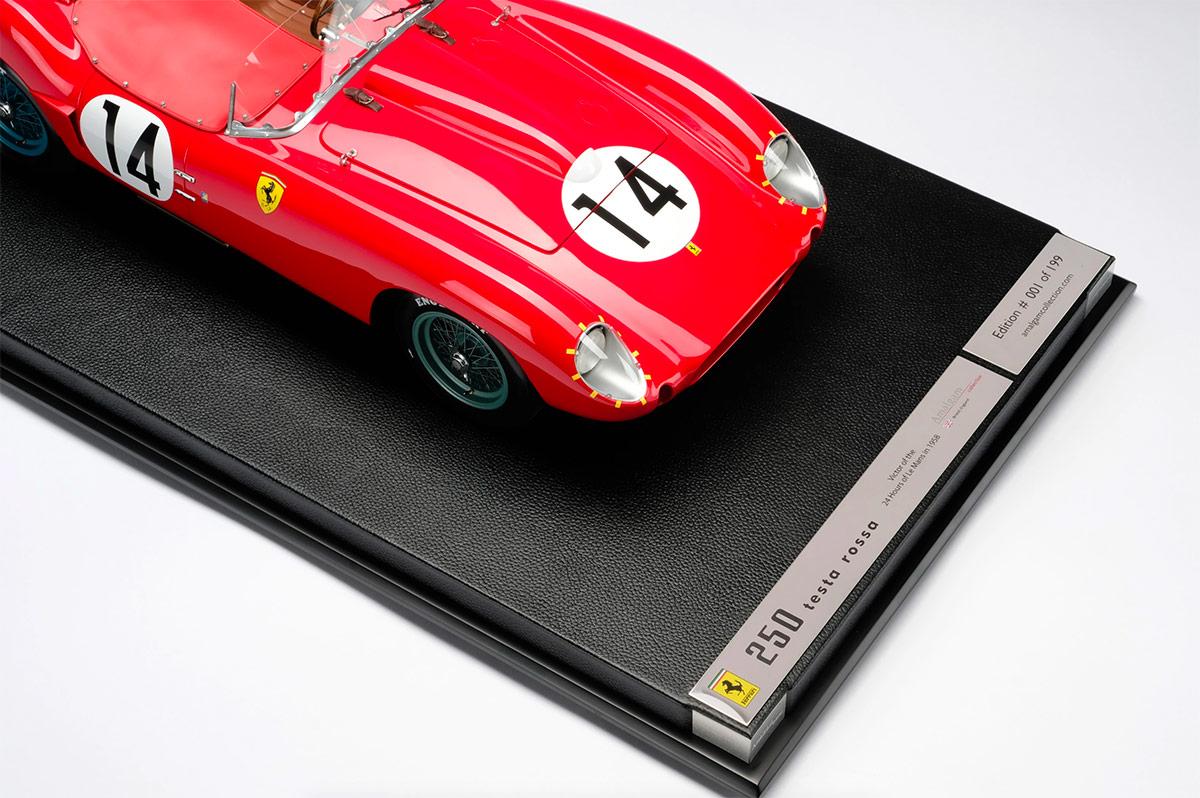 1/8 Ferrari 250 TR Le Mans 1958 par Amalgam