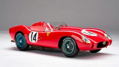 Photo of 1/8 : Amalgam a modélisé la Ferrari 250 TR, victorieuse des 24 H du Mans 1958