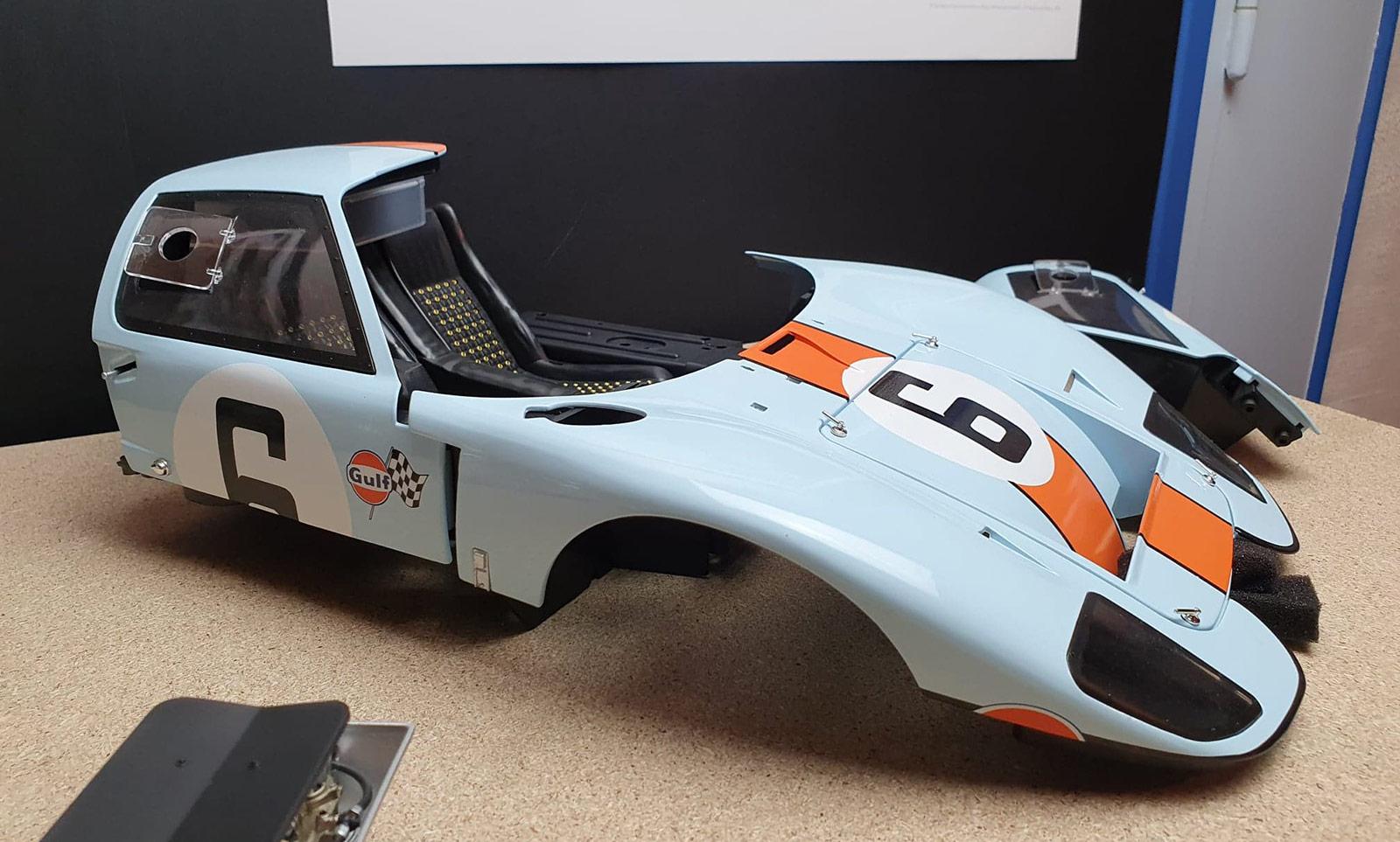 Ford GT 40 Altaya construire