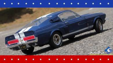 Photo de 1/18 : Solido va sortir la Shelby GT500 en bleu