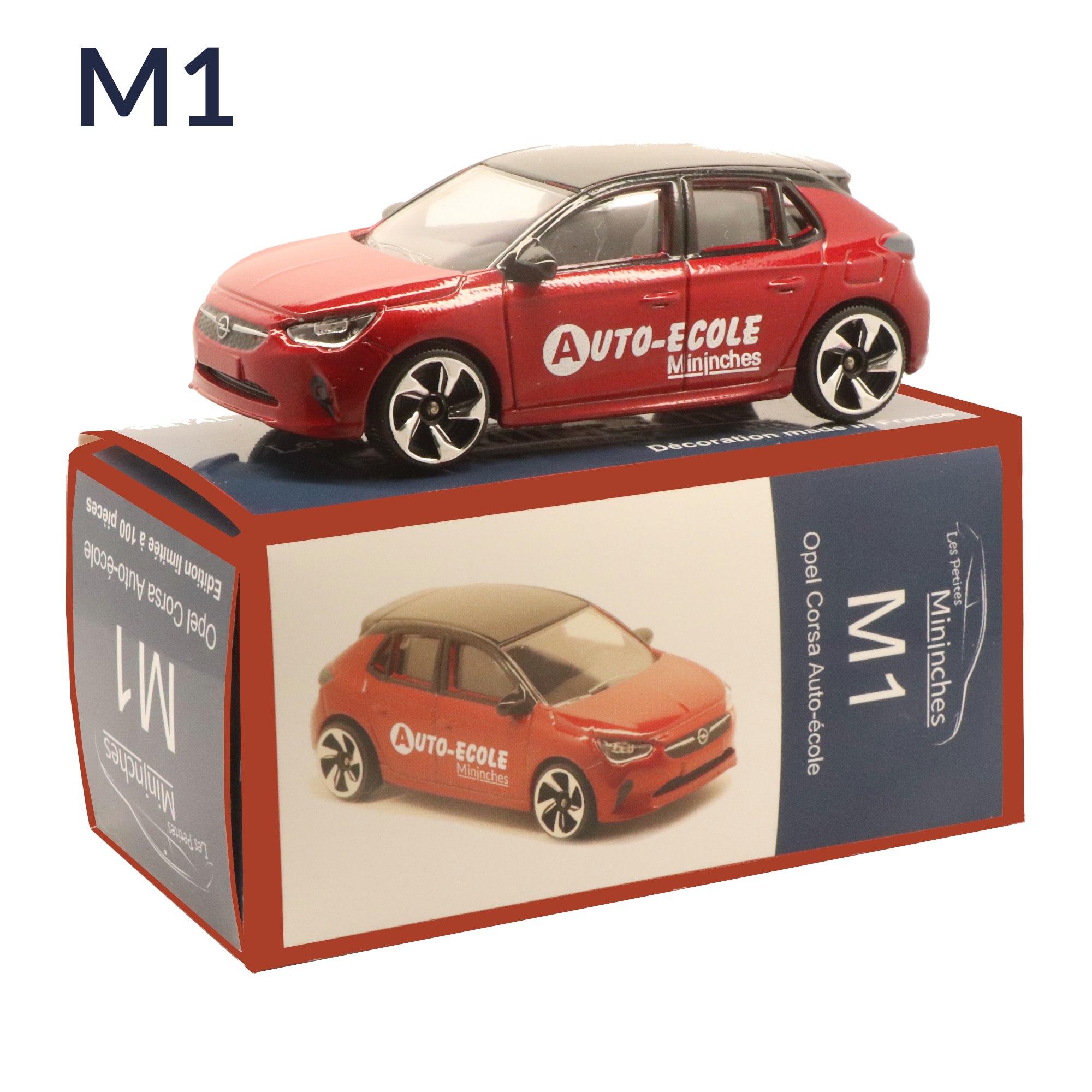 M1 Opel Corsa Auto-école Les Petites Mininches