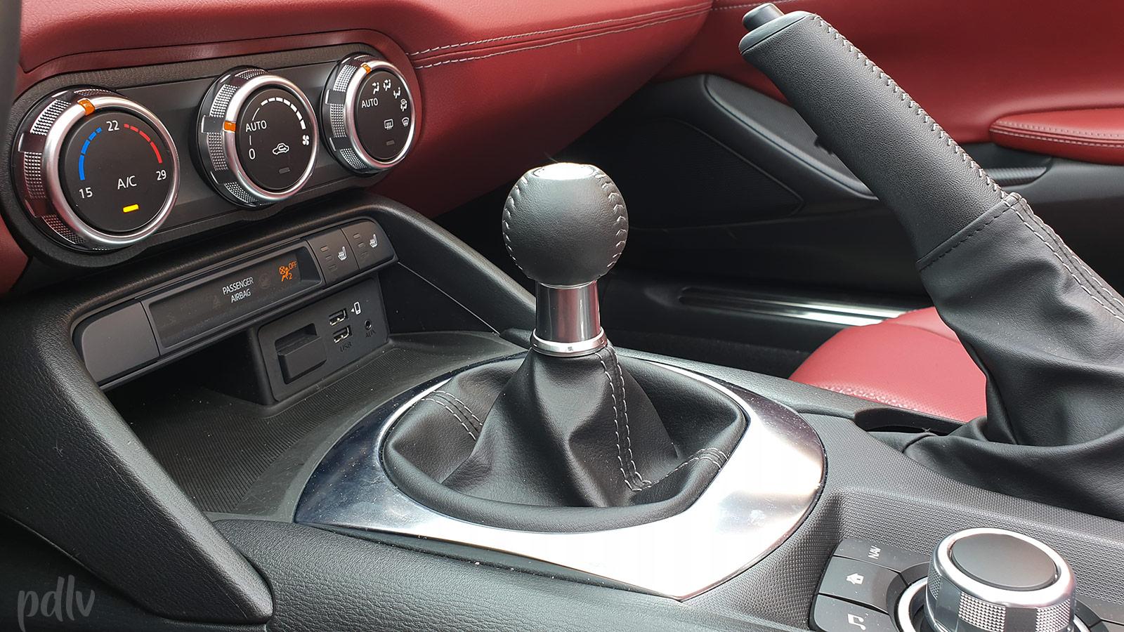 Boîte de vitesse manuelle 6 rapports Mazda MX-5 ND