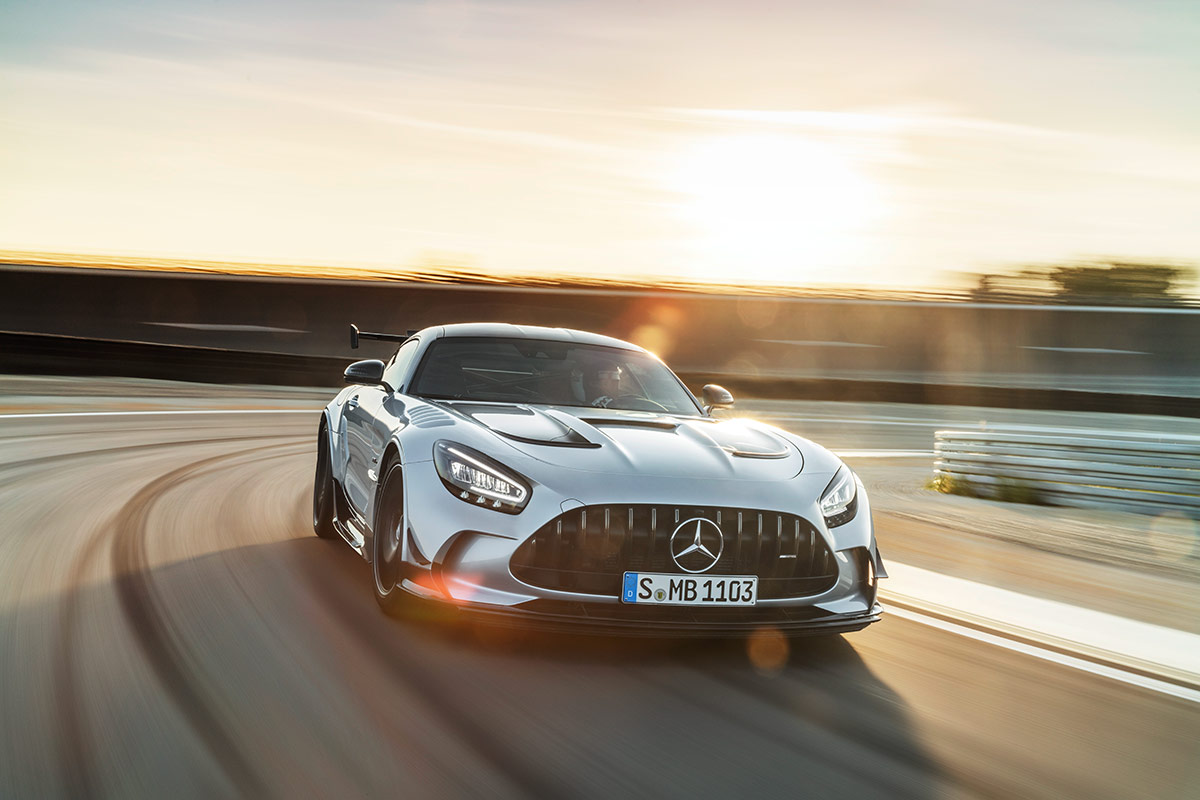 Performances de la Mercedes AMG GT Black Series