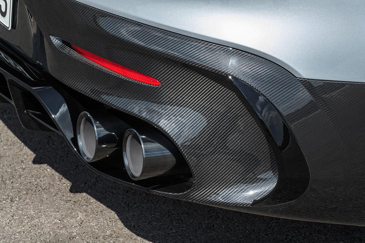 Diffuseur de la Mercedes AMG GT Black Series