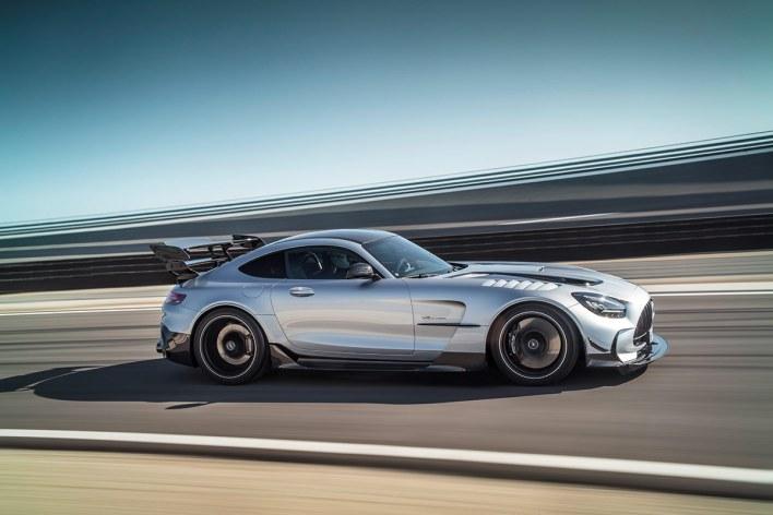 Profil de la Mercedes AMG GT Black Series