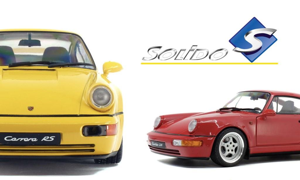 1/18 Porsche 911 (993) SOLIDO