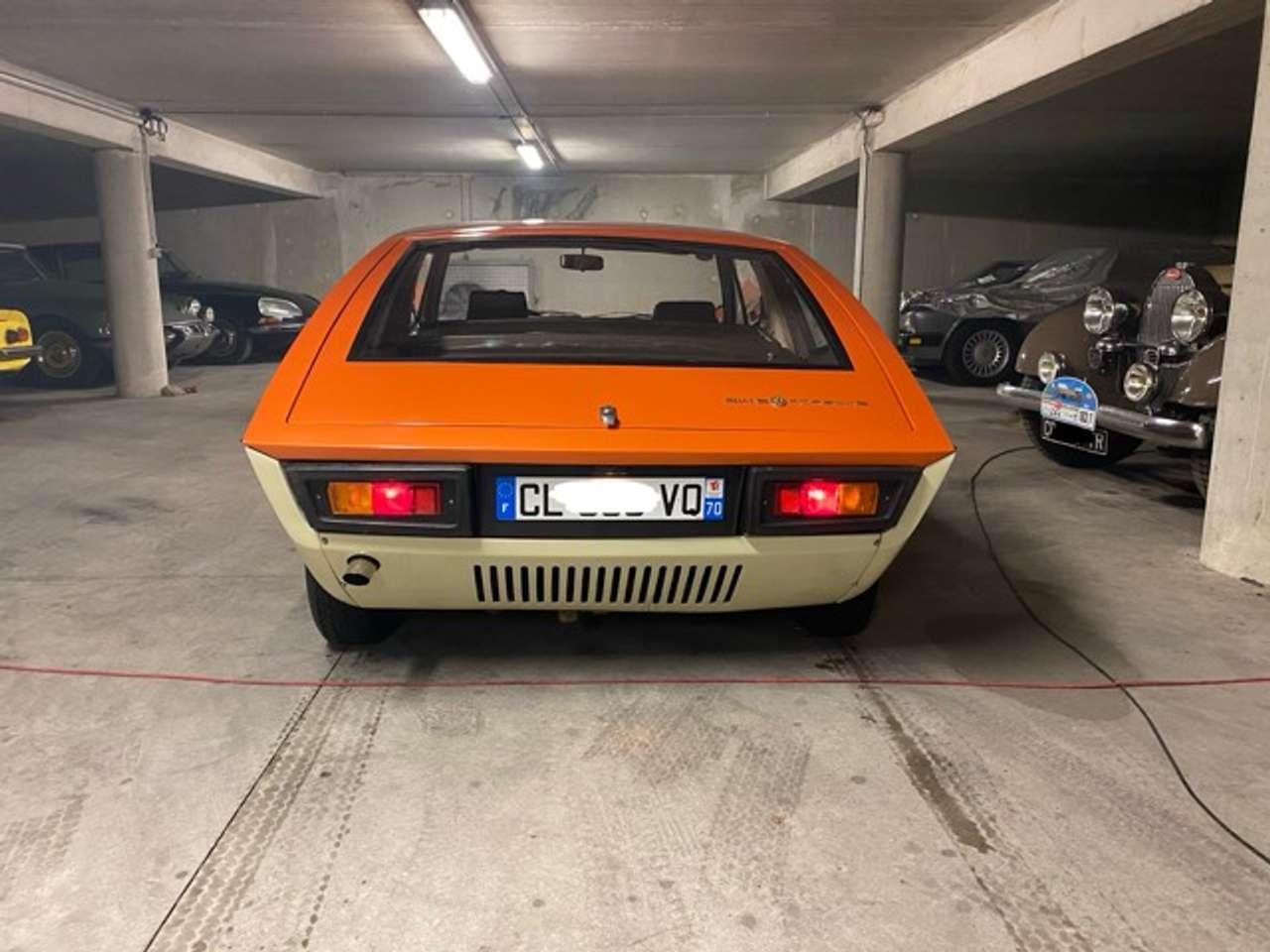 Arrière Porsche 914/6 Murène