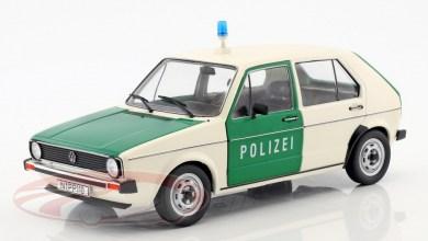 Photo de 1/18 : La VW Golf 1 Polizei a petit prix