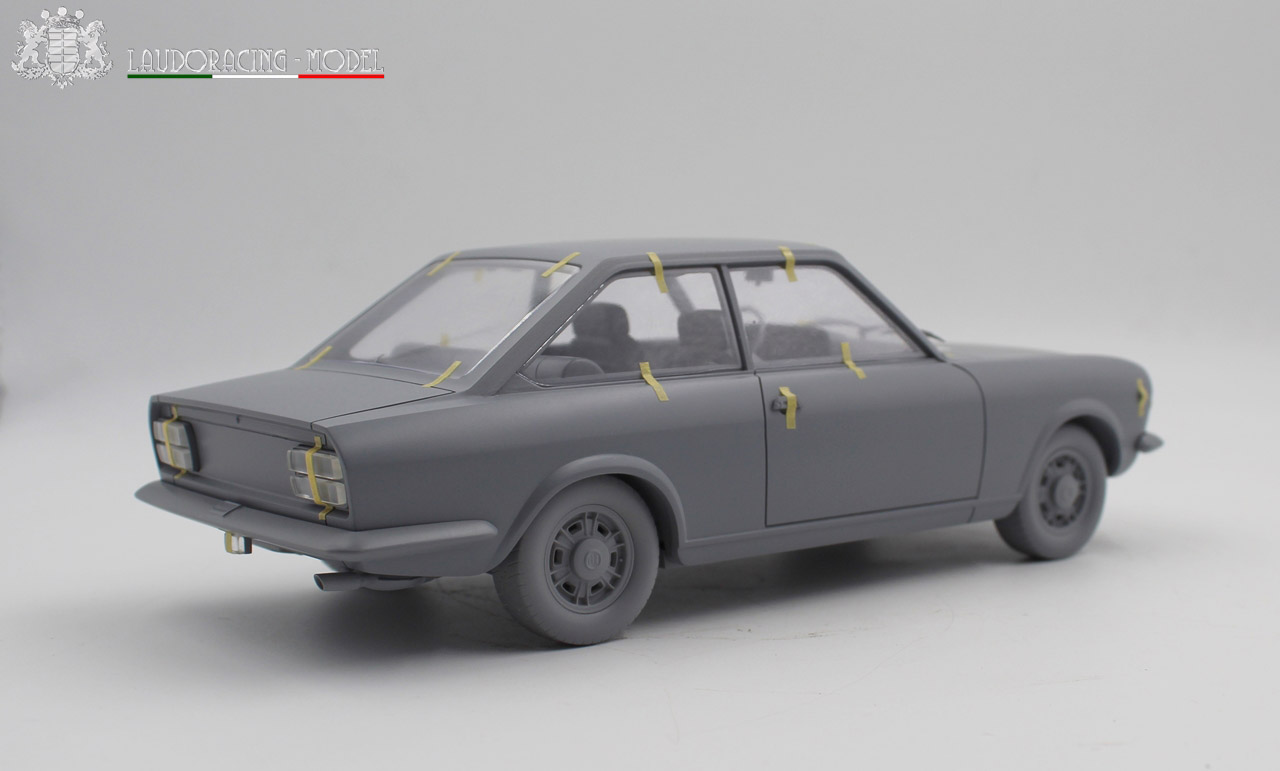 1/18 Fiat 124 Sport Coupé Laudoracing