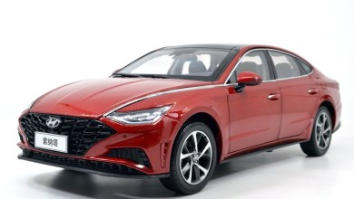 Photo of 1/18 : Paudi a reproduit la Hyundai Sonata 2020