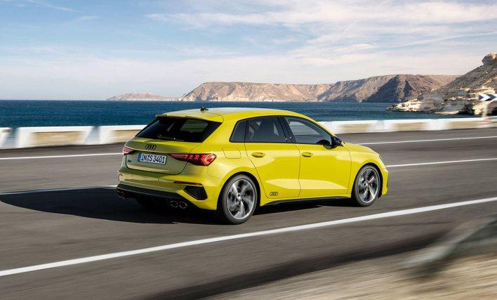 Arrière Audi S3 2020