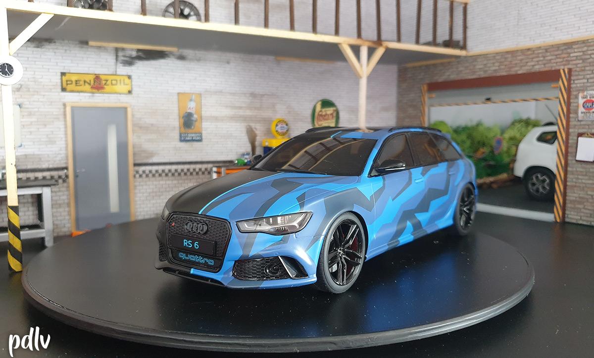 1/18 Audi RS 6 GMK